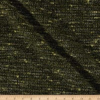 Italian Boucle Suiting Metallic Olive