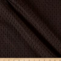 Imported Crinkle Jacquard Sparkle  Chocolate/Black