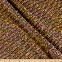 Chanel Wool Boucle Brocade Dk Sage/Yellow/Orange