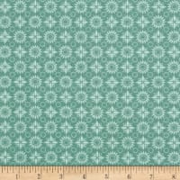 Stof France Dotty Stretch Jersey Knit Celadon