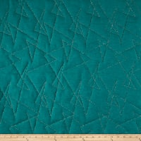 Mod Quilted Upholstery Peacock