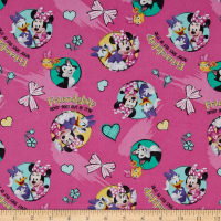 Disney Minnie Happy Helpers Friendshp Never Goes Out Of Style Pink