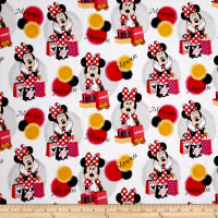 Disney Minnie Traditional Minnie Shops White