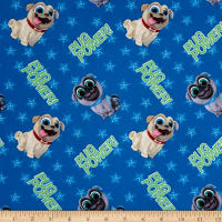 Disney Puppy Dog Pals Pug Power Blue