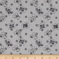Disney Mickey Nursery Hellow Little One Gray