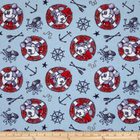 Disney Mickey And Minnie Nautical Sailing Since 1928 Multi