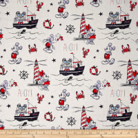 Disney Mickey And Minnie Nautical Ahoy Mickey Multi