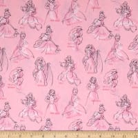 Disney Princess Fashion Princess Allover Pink