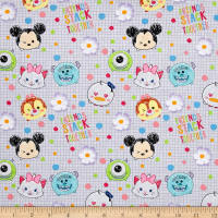 Disney Tsum Tsum I Love My Friends White