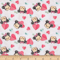 Disney Tsum Tsum Minnie Hearts Pink