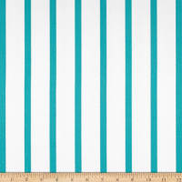Ralph Lauren Home Edgewater Stripe Turquoise Sateen Twill