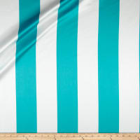 Ralph Lauren Home Pringle Stripe Sateen Turquoise