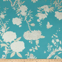 Ralph Lauren Home Tea House Twill Floral Caribbean