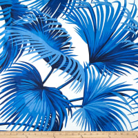 Ralph Lauren Home Outdoor Costa Tropica Palm Ultramarine
