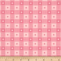 Penny Rose Mae Flowers Plaid Pink