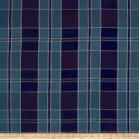Ralph Lauren Home Mission Plaid Canvas Indigo
