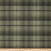 Ralph Lauren Home LCF68181F Eliott Plaid Melton Wool Lichenstone