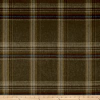 Ralph Lauren Home LCF68184F Sommerset Plaid Melton Wool Earth