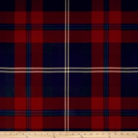 Ralph Lauren Home Wexford Wool Twill Sateen Garnet