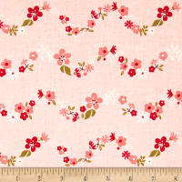 Riley Blake Sweet Prairie Chain Pink