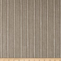100% European Linen  Striped Natural