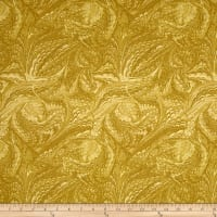 Timeless Treasures Metallic Enchanted Marble Gold