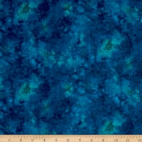 Timeless Treasures Solid-ish Watercolor Texture Azure