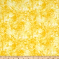 Timeless Treasures Solid-ish Watercolor Texture Lemon