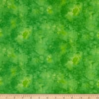 Timeless Treasures Solid-ish Watercolor Texture Lime