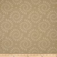 Timeless Treasures Bohemian Blues Kaleidoscope Tan