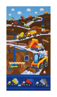 "Timeless Treasures Dig It 24"" Construction Panel Multi"