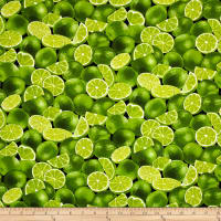Timeless Treasures Farm Stand Limes Lime