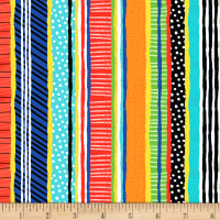 Timeless Treasures Treasure Island Stripe Multi