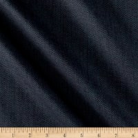 Small Herringbone Super 110 Suiting Dark Stone Blue/Black