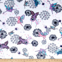 Shannon Minky Cuddle Pixie Dust Navy