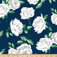 Shannon Studio Minky Cuddle La Vie En Rose Cuddle Navy