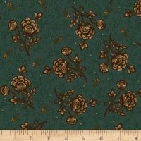 Kim Diehl Helping Hands Wild Rose Teal