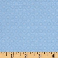 Modern Melody Basic Filigree Geo Light Blue