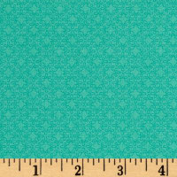 Modern Melody Basic Filigree Geo Teal