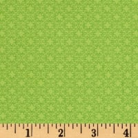 Modern Melody Basic Filigree Geo Spring Green