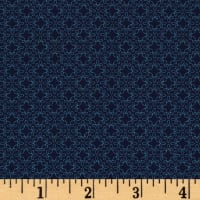 Modern Melody Basic Filigree Geo Navy