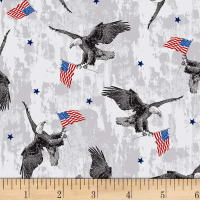 Brave & Free Eagles Grey