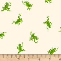 Heather Ross Kinder Frogs White