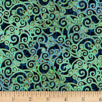 Mystique Scroll Teal