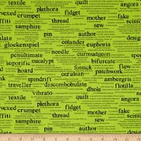 Wordplay Vocabulary Spring Green