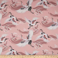 Telio Bloom Cotton Sateen Crane Blush