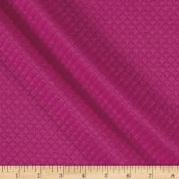 Telio Mini Quilted Knit Diamond Fuchsia