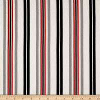 Telio Pebble Crepe  Stripe Black Melon