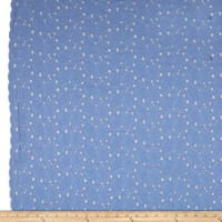 Telio Richel Cotton Eyelet Blue