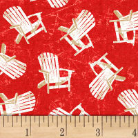 Shoreline  Chairs Red